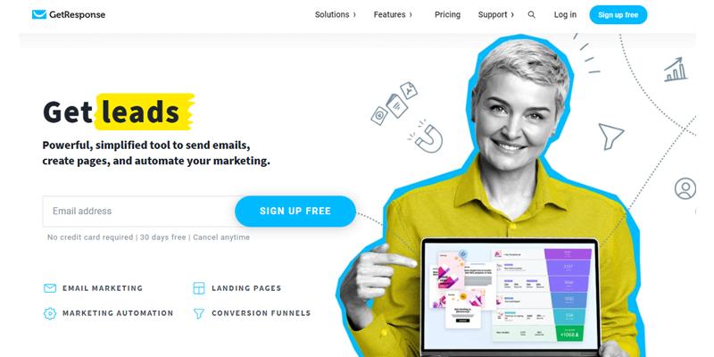 Digital Marketing Tools - GetResponse