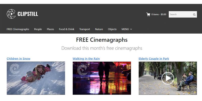 Free stock footage video ClipStill