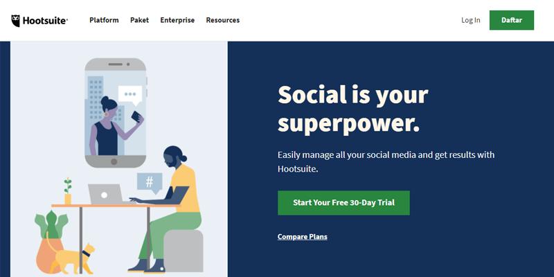 Digital Marketing tools - Hootsuite