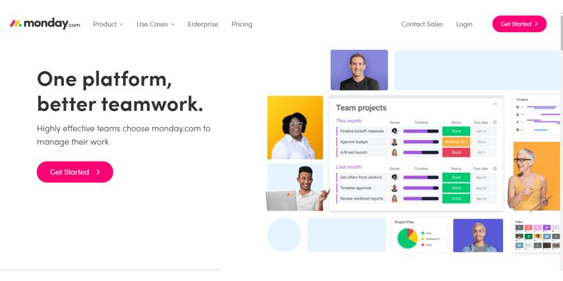 Digital Marketing Tools - Monday.com