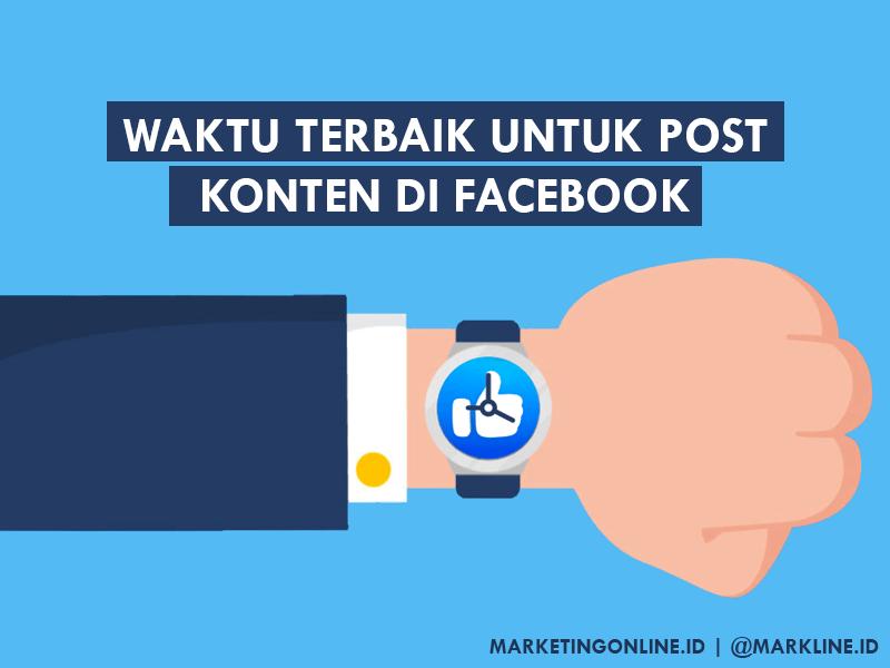 waktu terbaik posting di Facebook