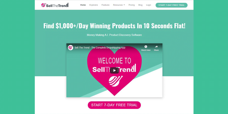 Sell The Trend bisnis dropshipping