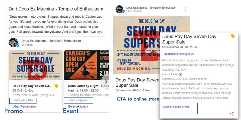 Optimasi konten Google MyBusiness