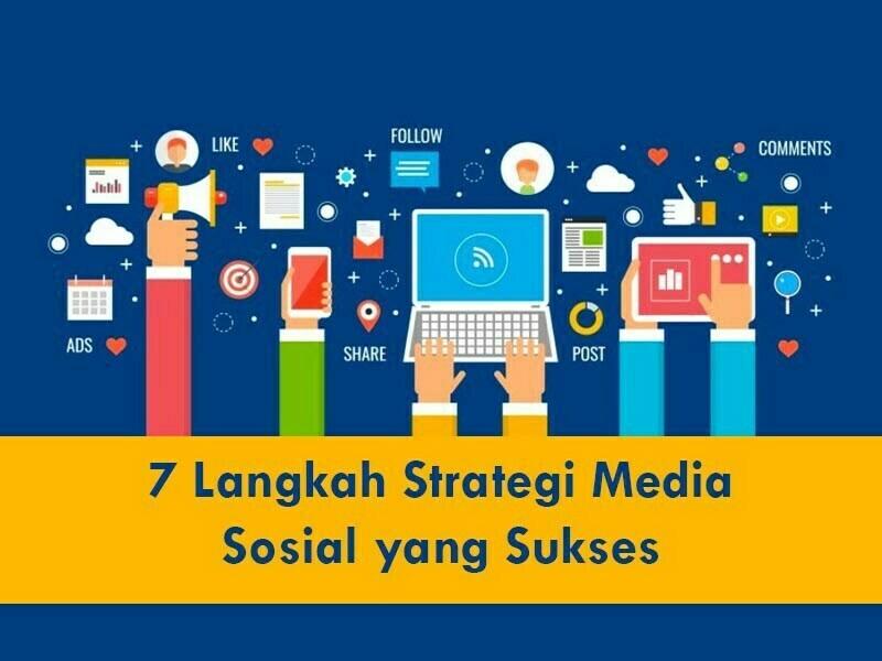 strategi sosial media yang sukses