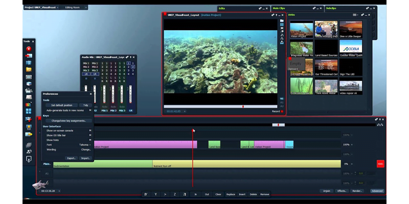 Lightsworks video editing software