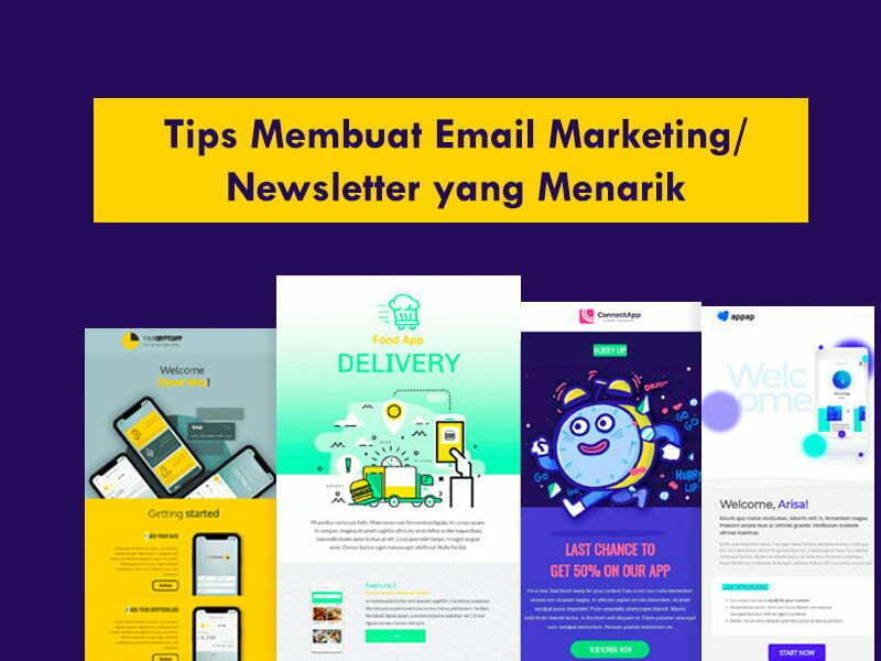 Tips Membuat Email Newsletter menjadi Menarik