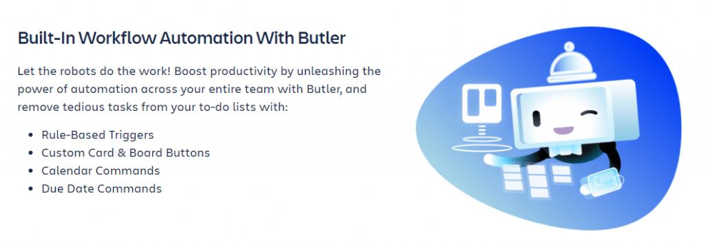 Fitur Butler Trello Otomatisasi